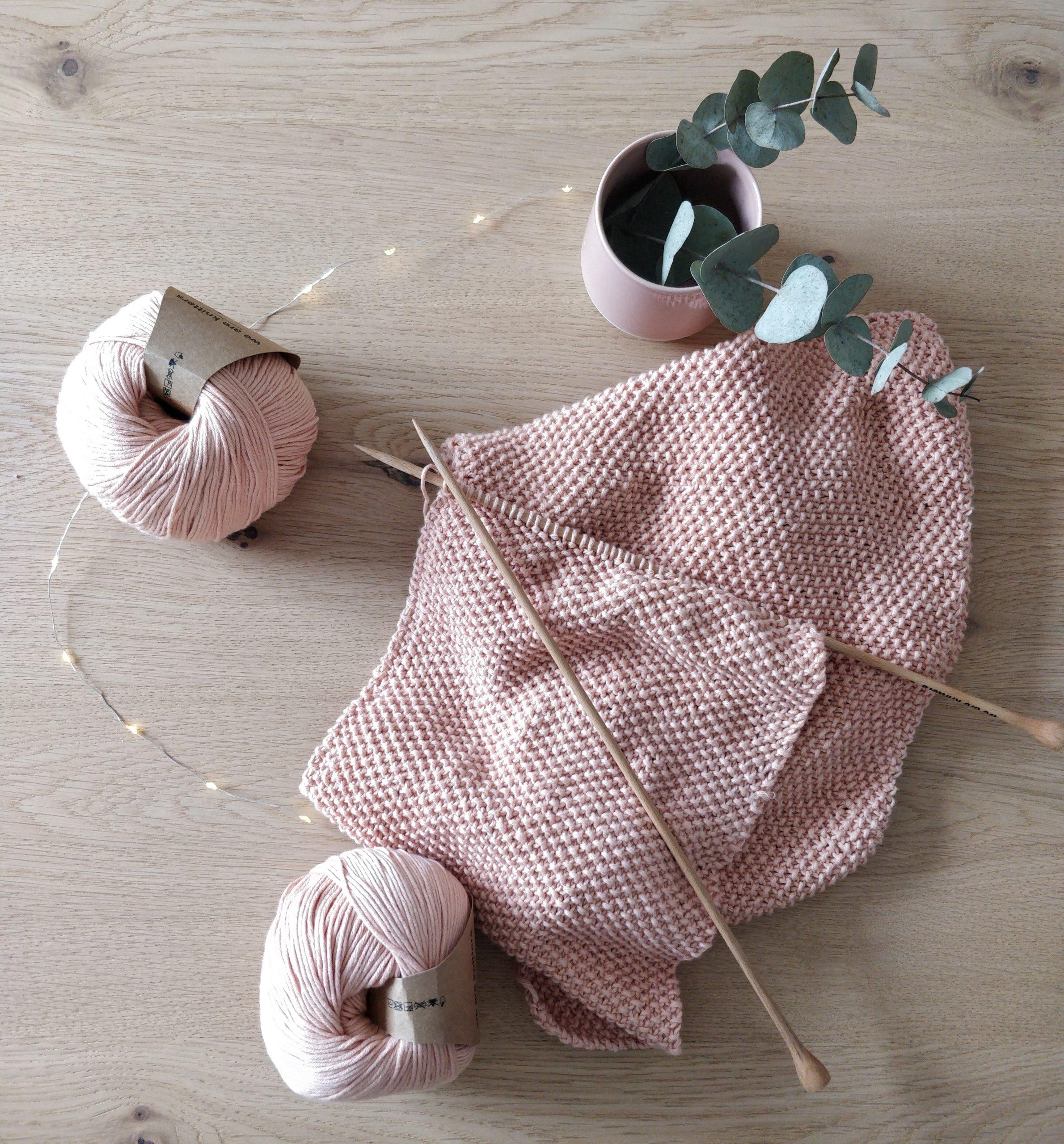 projet tricot pendant confinement
