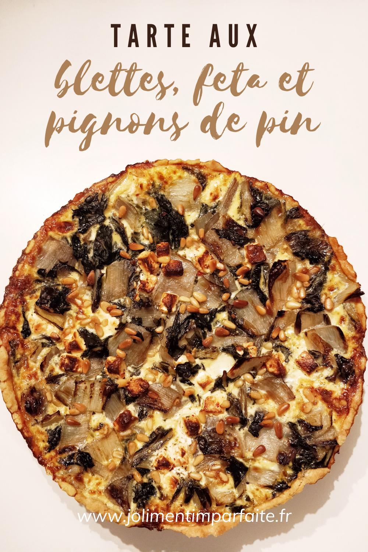 tarte aux blettes - pinterest